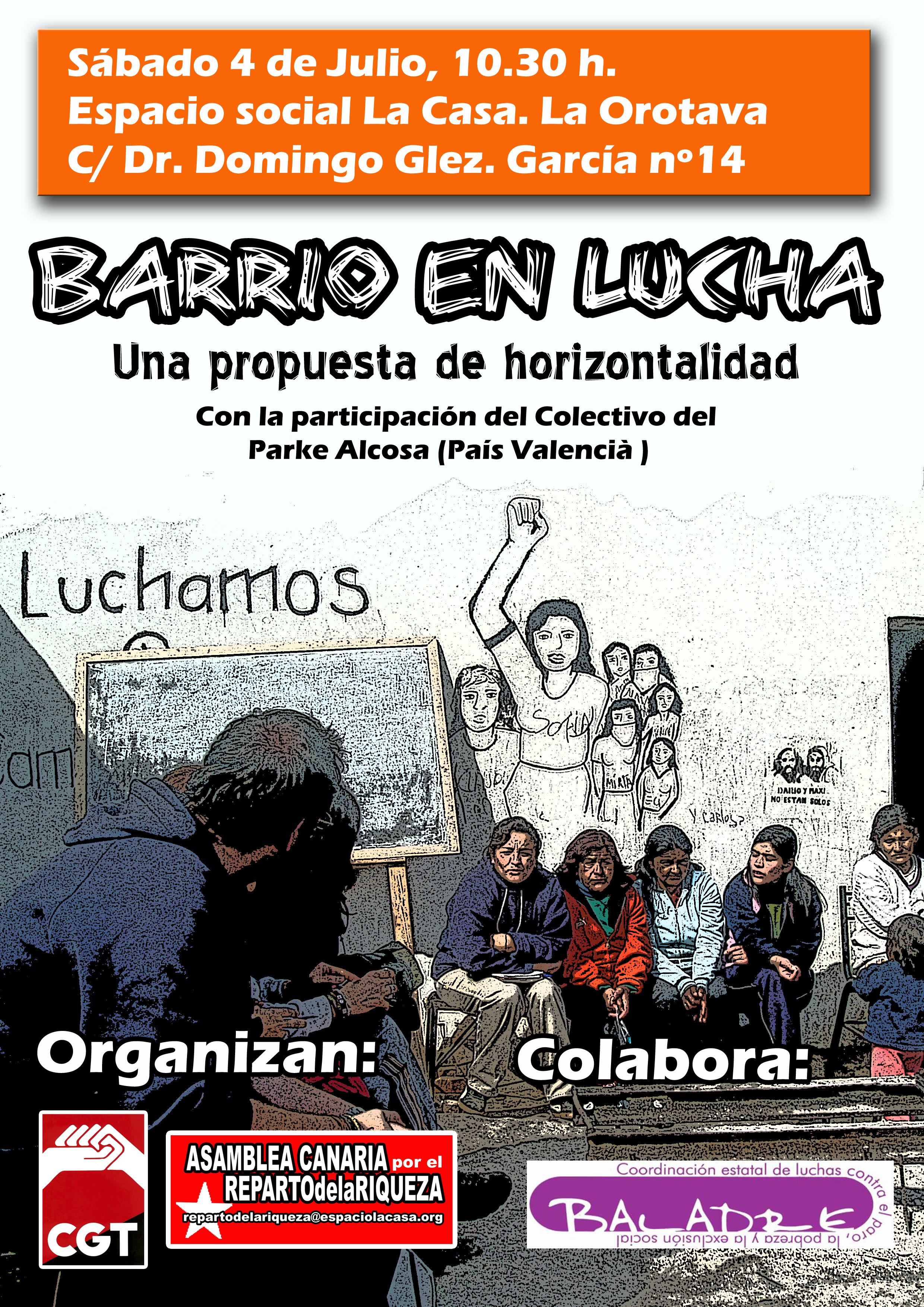 cartelBarriosenLucha